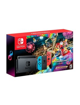 Switch With Mario Kart 8 Deluxe Console Bundle    by Nintendo