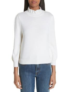 Essentials High Collar Wool Sweater by Co