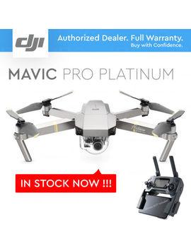 Dji Mavic Pro Platinum W/ 4 K Stabilized Camera, 30 Mins Flight, Noise Reduction by Dji