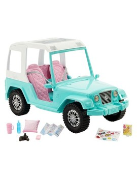 Barbie Pink Passport Jeep Vehicle by Barbie
