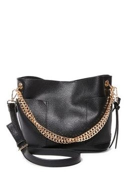 Small Chain Bucket Bag by Steve Madden