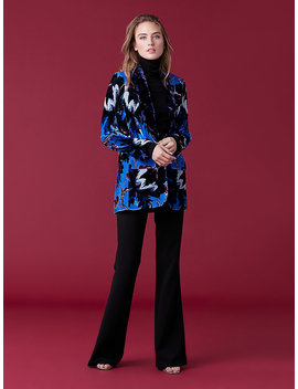 Tommy Velvet Jacket by Dvf