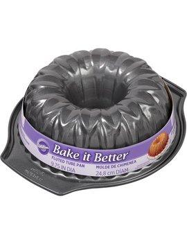 Wilton Bake It Better Flower Fluted Tube Pan, 2105 1328 by Wilton