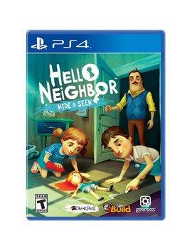 Hello Neighbor: Hide & Seek, Gearbox, Play Station 4, 850942007618 by Gearbox