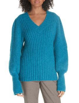Lofty Alpaca Wool Blend Sweater by Rebecca Taylor