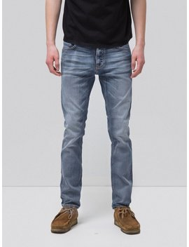 Tilted Tor True Cold Blue by Nudie Jeans