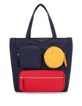 Multi Pocket Chubby Wink Tote by Anya Hindmarch