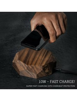 I Phone X Qi Wireless Charging Station,Iphone Xs Charger, Iphone Xs Wireless Charging Pads, Wireless Chargers, Xmas Gift For Him Premium by Etsy