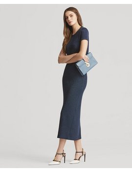 Long Crewneck Dress by Ralph Lauren