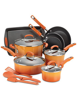 14 Pc. Non Stick Cookware Set by Rachael Ray