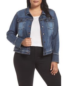 Canzone Denim Jacket by Ashley Graham X Marina Rinaldi