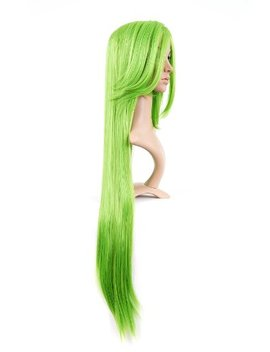 Bright Green Long Length Anime Cosplay Costume Wig by Cosplay Depot