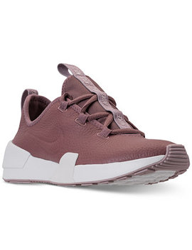 Women's Ashin Modern Leather Casual Sneakers From Finish Line by Nike