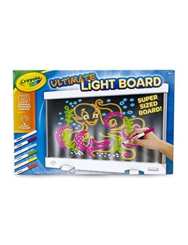 Crayola Ultimate Light Board, Drawing Tablet, Gift For Kids, Age 6, 7, 8, 9 by Crayola