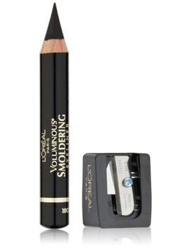 L'oréal Paris Voluminous Smoldering Eyeliner, Black, 0.087 Oz. (Packaging May Vary) by L'oreal Paris