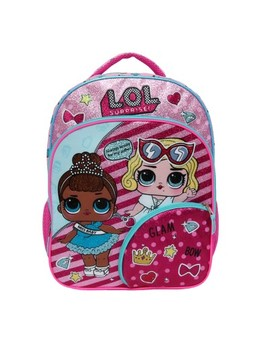 """L.O.L. Surprise! 16"""" Let Me Out Kids' Backpack   Pink by Accessory Innovations"""