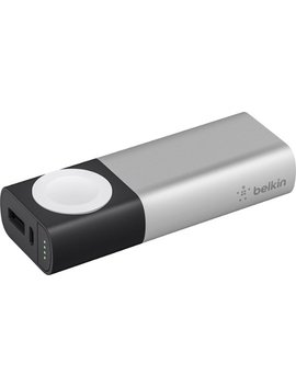 Valet 6700 M Ah Portable Charger For Most Apple© Devices   Silver/Black by Belkin
