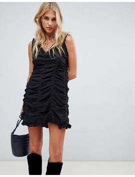 The East Order Paloma Ruched Mini Dress by The East Order