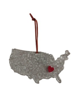 United States Of America Christmas Ornament   Wondershop™ by Shop This Collection