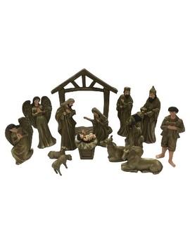 15pc Dark Gold Metallic Nativity Set   Wondershop™ by Shop This Collection