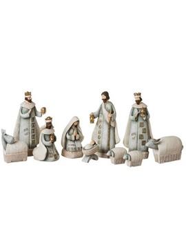 "7.5"" 10pc Nativity Set by Roman"