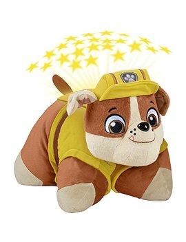 Pillow Pets Nickelodeon Paw Patrol Rubble Dream Lites Stuffed Animal Night Light by Pillow Pets