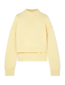 Lyn Cashmere Turtleneck Sweater by Rejina Pyo