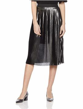 Painted Heart Women's Pleated Midi Skirt by Painted+Heart