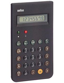 Braun Bne001 Bk (Reissue Of The Braun Et66 Calculator), Black by Braun