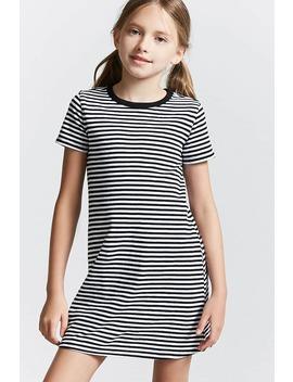 Girls Stripe Mini Dress (Kids) by Forever 21
