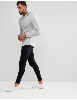 Asos Design   Superskinny Joggingbroek In Zwart by Asos
