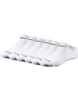 Nike Dri Fit No Show Socks 6 Pack by Nike