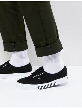 Vans Authentic Sneakers In Black Va38 Emrfm by Vans