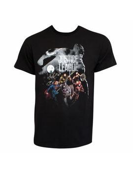 Justice League Batman Overwatch Tee Shirt Black by Justice League