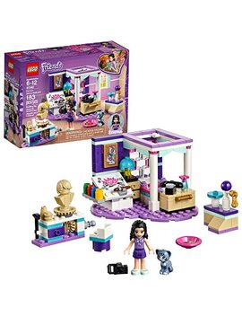 Lego Friends Emma's Deluxe Bedroom 41342 Building Kit (183 Piece) by Lego