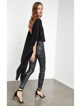 Sequin High Low Jumpsuit by Bcbgmaxazria