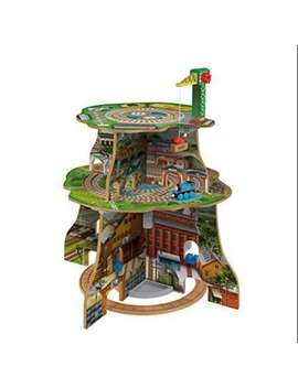 Thomas & Friends Wooden Railway Up & Around Adventure Tower by Fisher Price