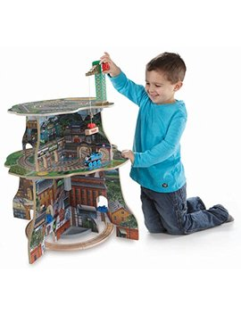 Fisher Price Thomas & Friends Wooden Railway, Up And Around Sodor Adventure Tower by Thomas & Friends