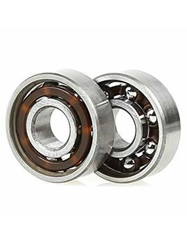 Fidget Spinner Bearings Set, Holody 10 Pcs 608 Ball Center Replacement Parts Bearings Kit, Spin 3 Minutes by Holody