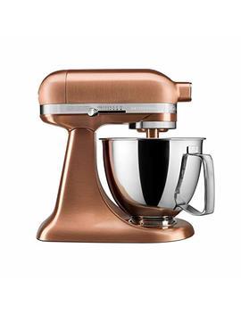 Kitchen Aid Artisan Mini Stand Mixer Satin Copper Ksm33 Xxcp by Kitchen Aid