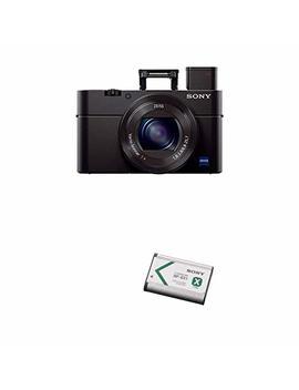 Sony Cyber Shot Dsc Rx100 Iii Digital Still Camera With Lithium Ion X Type Battery (Black) by Sony