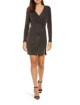 Metallic Sheath Dress by Row A