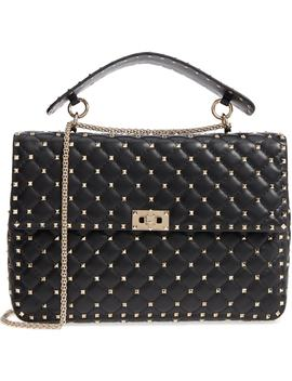 Rockstud Spike Maxi Shoulder Bag by Valentino Garavani