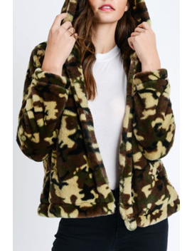 Furry Camo Jacket by Femmebot, New Jersey