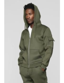 Winson Full Zip Hoodie   Olive by Fashion Nova