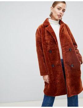 Пальто с двубортным эффектом Jayley by Asos