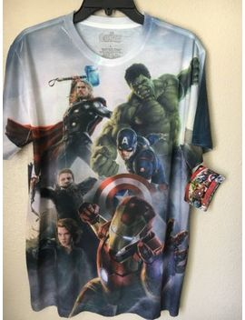Marver   Avengers The Age Of Ultron Men's T Shirt Size Large by Marvel