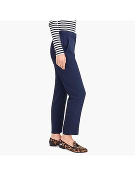 Petite Pull On Easy Pant In Japanese Weave by J.Crew
