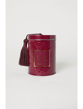 Scented Candle In A Tin by H&M