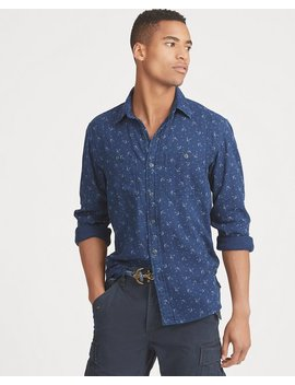 Classic Fit Indigo Workshirt by Ralph Lauren